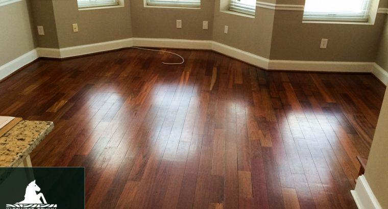 Hardwood Floor Refinishing Service in Columbia, MD