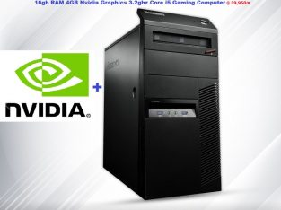 Lenovo Refurbished Desktop Computer Core i5 16gb RAM