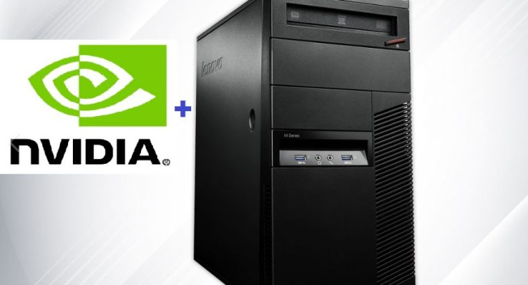 Lenovo Refurbished Desktop Computer Core i5 16gb RAM