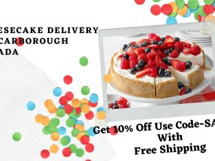Cheesecake delivery in Scarborough Canada with Free Shipping