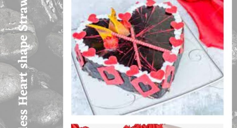 Egg-less Strawberry Cake Delivery for Anniversary in Canada with Free Shipping
