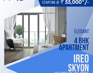 Ireo Skyon for Rent in Gurugram | 4 BHK Apartment for Rent in Ireo Skyon Gurugram