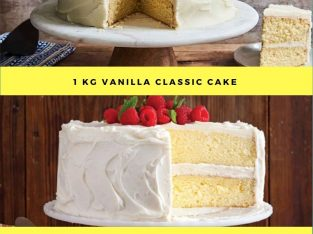 Vanilla Cake Delivery in Canada Cities with Free Shipping