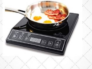 Duxtop 1800W Portable Induction Cooktop Countertop Burner, Black 9100MC