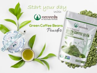 Organic Green Coffee Bean Powder For Weight Loss