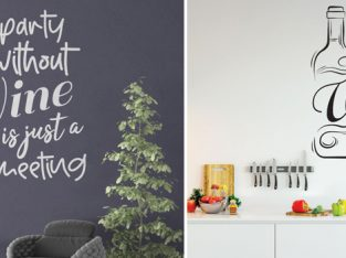 Kitchen Wall Stickers Quotes in the Huetion UK