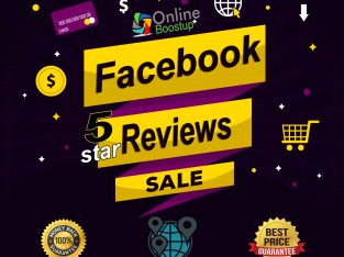 Buy Facebook Reviews for your facebook Business page