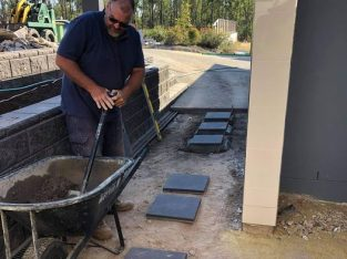 Concrete your pavers.
