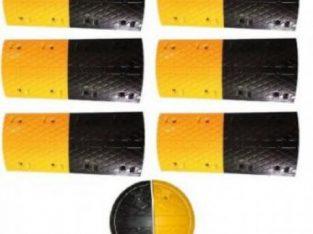 6m Rubber Traffic Speed Breaker Bump Hump by hiphen