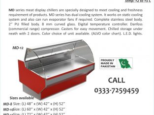 Meat Shops Equipment sale in Pakistan, Meat Display Chiller, Meat Chiller,