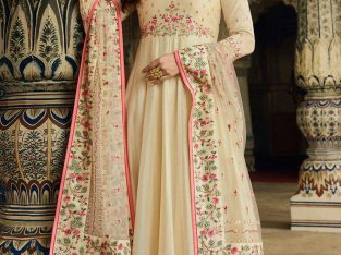 Shop best embroidered anarkali suits in UK