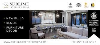 Vancouver Interior Designers – Sublime Interior Design