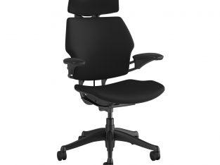 Freedom Headrest Graphite Frame – Black Fabric