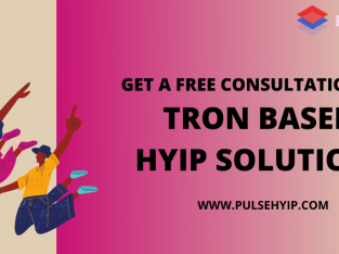 Tron based HYIP platform Development