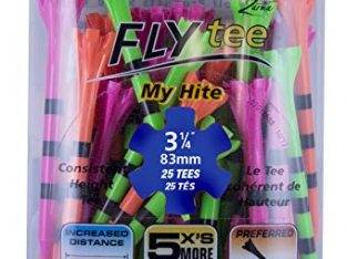 CHAMP ZARMA FLYTEE MY HITE 3-1/4″ 25 COUNT