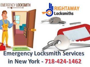 Emergency Locksmith Services in NY   Call 718-424-1462