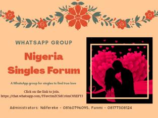Nigeria Singles Forum