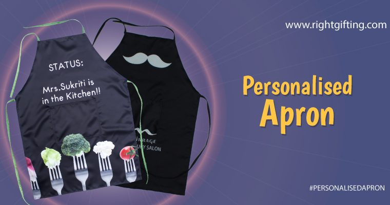 Get the best personalized apron from RightGifting