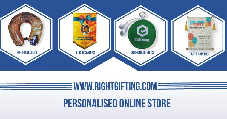 Get the best personalized gifts from RightGifting