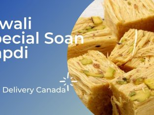 Diwali Special Soan Papdi Delivery in Canada
