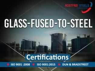 Glass Fused Steel Tanks – Rostfrei Steels