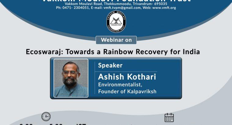 Ecoswaraj – Towards a Rainbow Recovery for India
