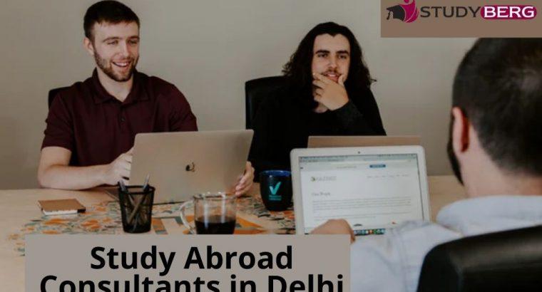 Study Abroad Consultants in Delhi: StudyBerg