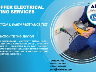 WE OFFER ELECTRICAL TESTING SERVICES