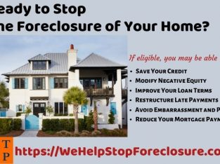 Ready to Stop the Foreclosure of Your Home?
