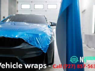 Vehicle wraps services in Hudson FL | Call (727) 857-5634