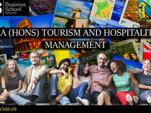 Ma In Tourism And Hospitality Management – C3S Business School