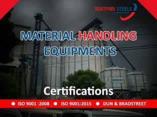 Material Handling Equipment Manufacturer – Rostfrei Steels