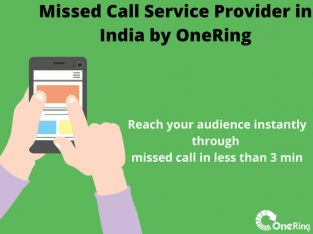 Missed Call Service Provider in India – Onering