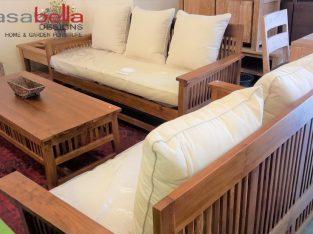 Teak Indoor Sofa Set