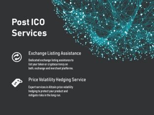 Post-ICO   Post – ICO Development Services   ICO Development