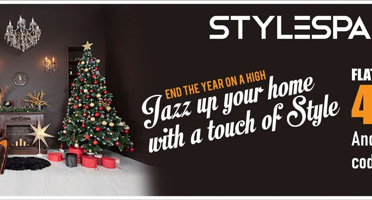 CHIRSTMAS OFFER – STYLESPA FURNITURES