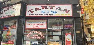 Fish and Chips Takeaway|Fast Food Glasgow|Tartan