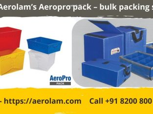 Aerolam's Aeropro pack – Bulk Packing Solution
