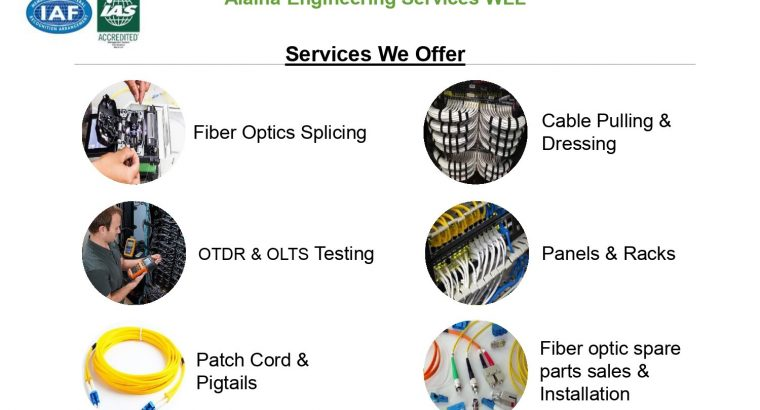 Alaina Optical fiber services