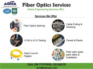 Alaina Optical fiber services