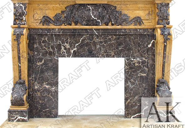 Marble Mantel   Marble Fireplace Hearth   Fireplace Mantels Surround
