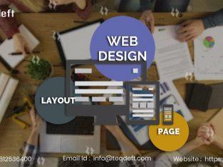 Professional Website Design Services India, Teqdeft