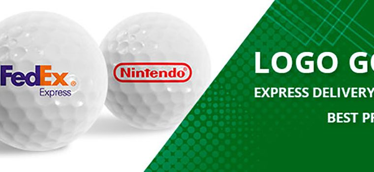 Customize Logo golf balls at exclusive discount