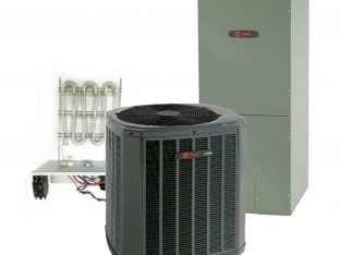 Trane 2.5 Ton 16 SEER Single Stage Heat Pump System Includes Installation