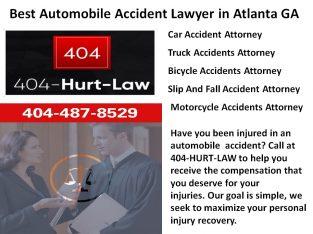 Best Automobile Accident Lawyer in Atlanta GA | 404 Hurt Law
