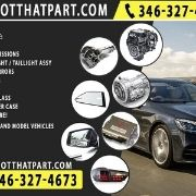 Auto Parts For Sale, Engines and Transmissions, Headlights Taillights, Mirrors and more.