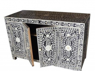 Bone Inlay Chest of Drawer – Lakecity handicrafts