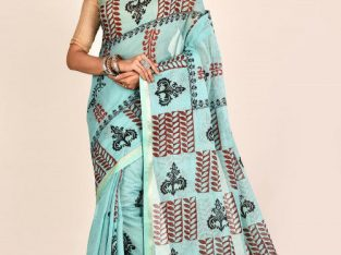 Simply Beautiful Hand Block Print Sarees