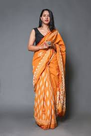 Stylish Cotton Sarees Manufacturers in India