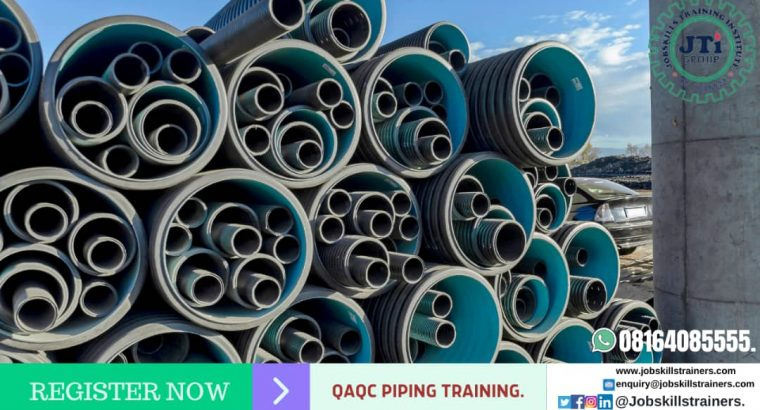 QAQC PIPING TRAINING